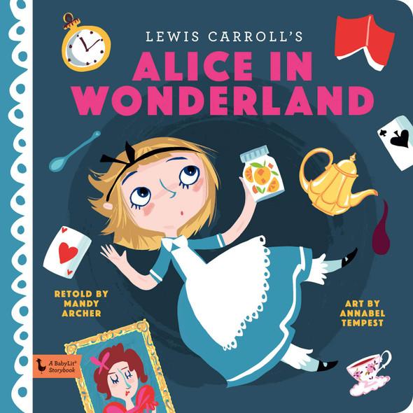 Alice in Wonderland (BabyLit Books) - Cover