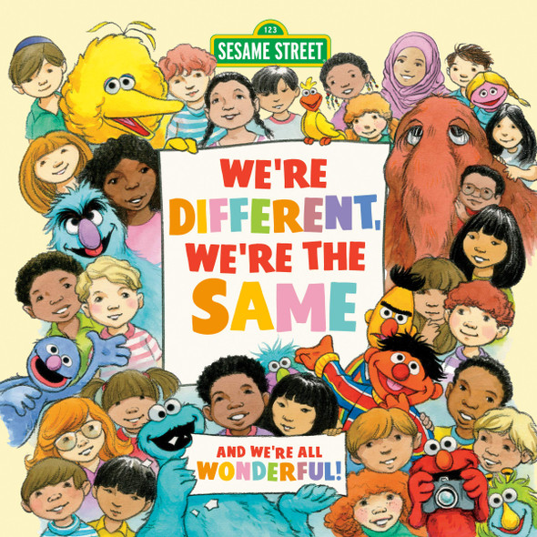 We're Different, We're the Same (Sesame Street) - Cover