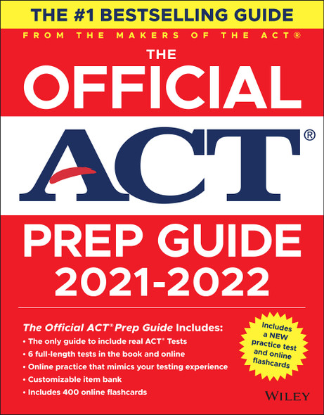 The Official ACT Prep Guide 2021-2022 - Cover