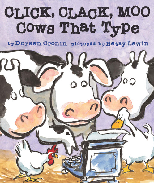 Click, Clack, Moo: Cows That Type - Cover