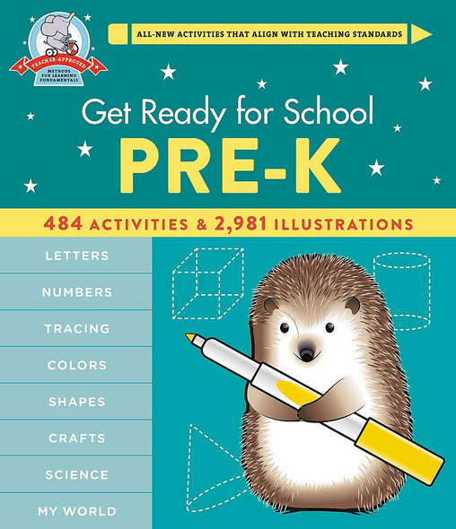 Get Ready for School: Pre-K - Cover