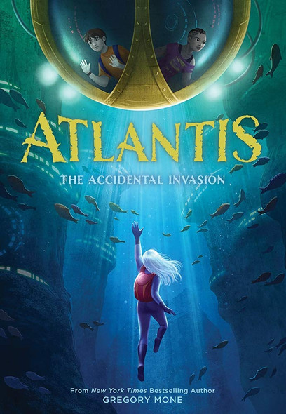 Atlantis: The Accidental Invasion - Cover