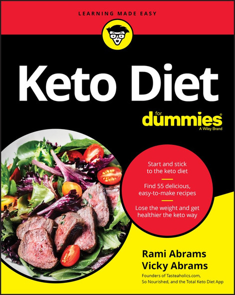 Keto Diet For Dummies - Cover