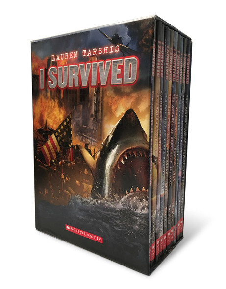 I Survived: Ten Thrilling Books - Cover