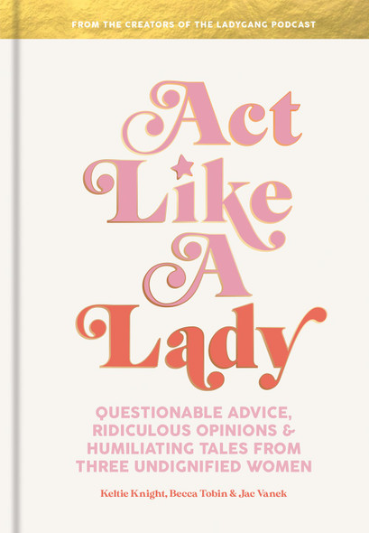 Act Like a Lady - Cover