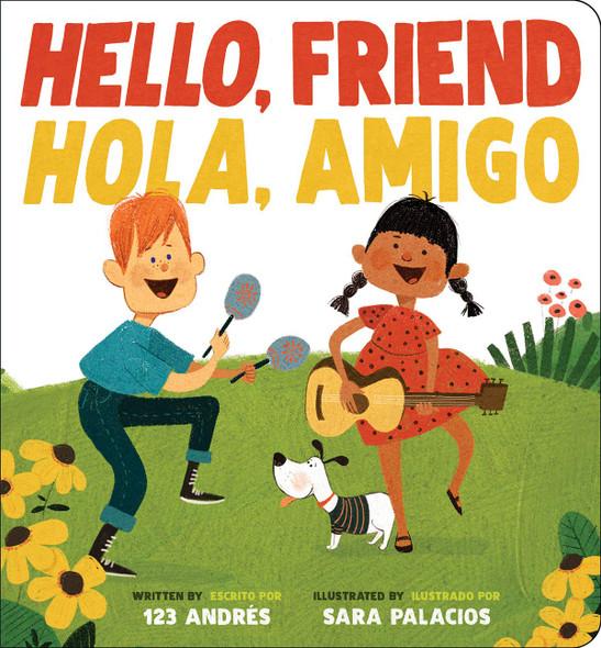 Hello, Friend / Hola, Amigo - Cover
