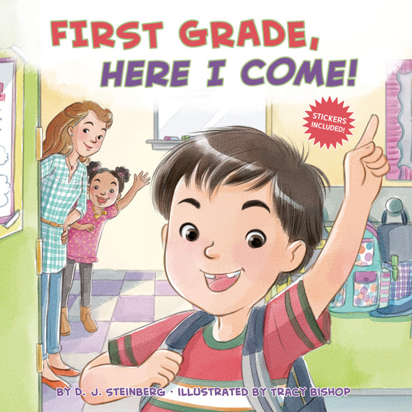 First Grade, Here I Come! - Cover