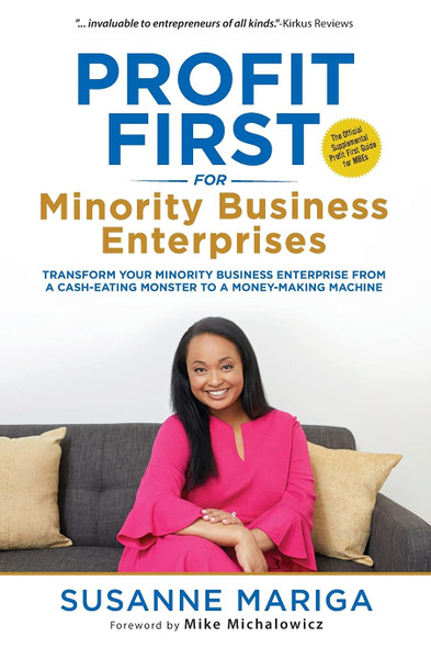 Profit First For Minority Business Enterprises - Cover