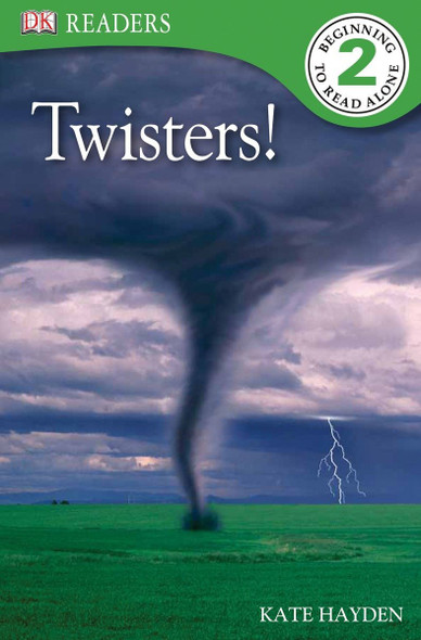 DK Readers L2: Twisters! - Cover