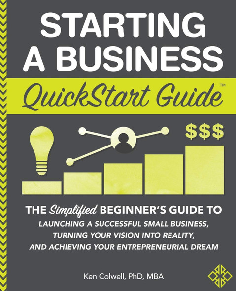 Starting a Business QuickStart Guide - Cover