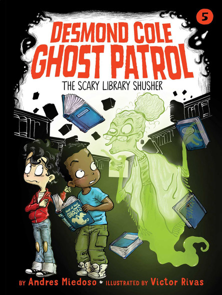 The Scary Library Shusher - Cover