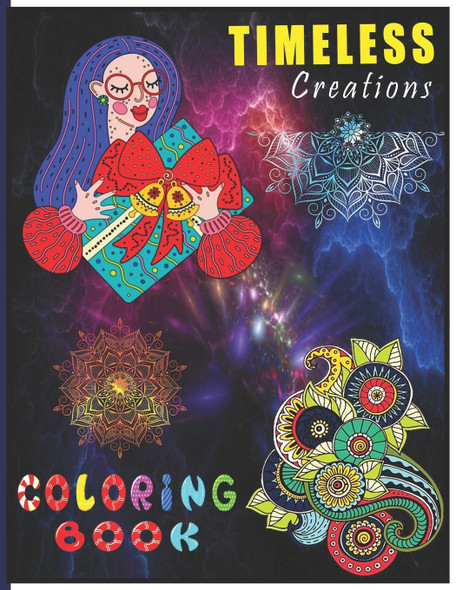 Timeless Creations Coloring Book - Cover