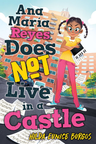 Ana Maria Reyes Does Not Live in a Castle - Cover