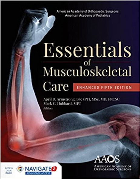 AAOS Essentials of Musculoskeletal Care: Enhanced Edition - Cover