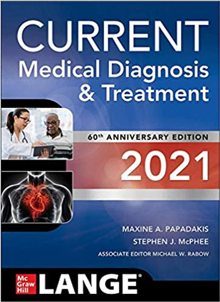 Current Medical Diagnosis and Treatment 2021 - Cover