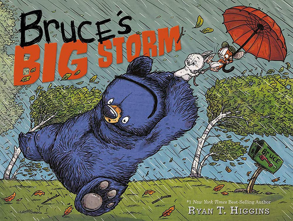 Bruce's Big Storm - Cover