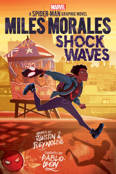 Miles Morales: Shock Waves - Cover