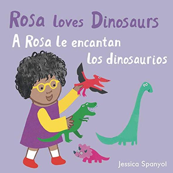 A Rosa Le Encantan Los Dinosaurios/Rosa Loves Dinosaurs - Cover