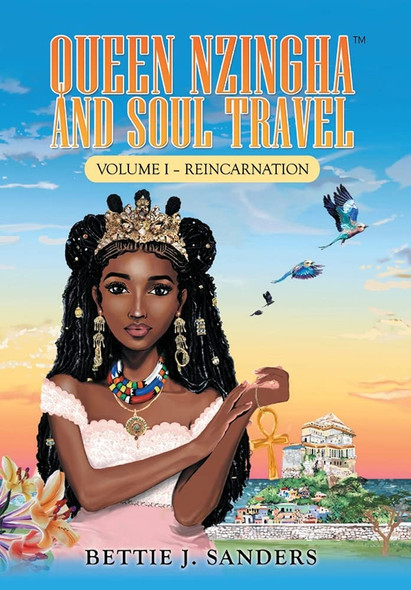 Queen Nzingha and Soul Travel: Reincarnation - Cover