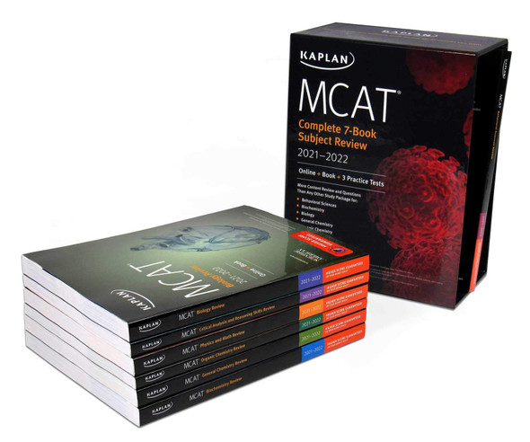 MCAT Complete 7-Book Subject Review 2021-2022 - Cover