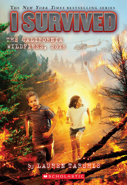 I Survived the California Wildfires, 2018 - Cover