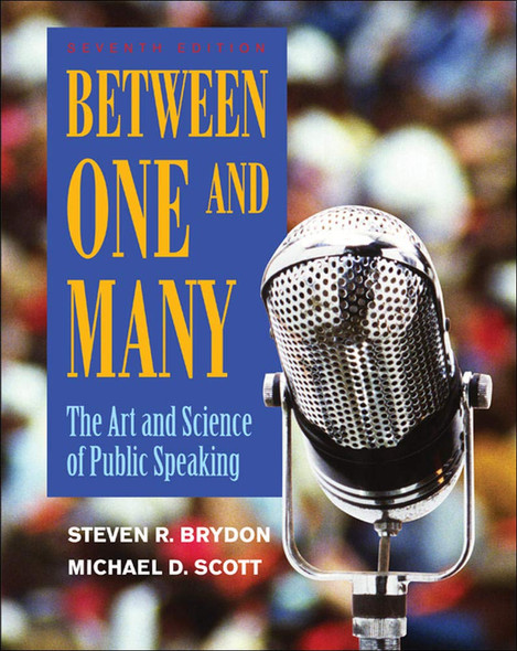 Between One and Many: The Art and Science of Public Speaking - Cover