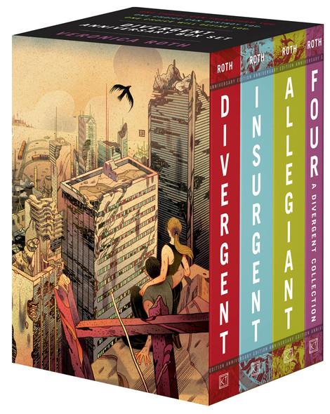 Divergent Anniversary 4-Book Box Set - Cover