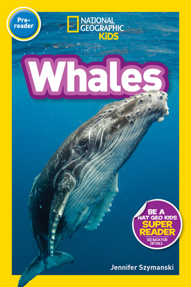 National Geographic Readers: Whales - Cover