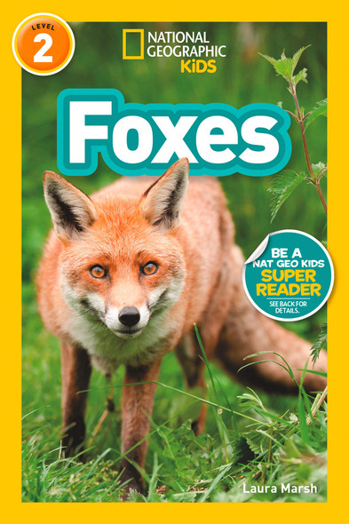 National Geographic Readers: Foxes - Cover