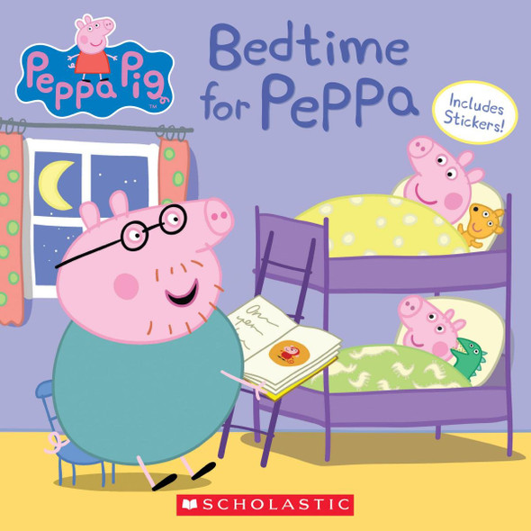 Bedtime for Peppa - Cover