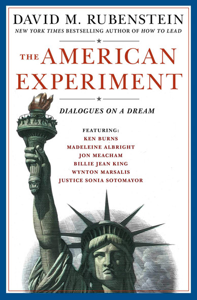The American Experiment: Dialogues on a Dream - Cover