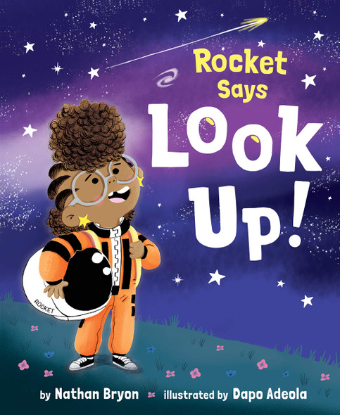 Rocket Says Look Up! - Cover