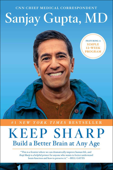 Keep Sharp: Build a Better Brain at Any Age - Cover