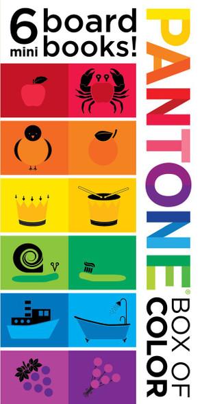 Pantone: Box of Color: 6 Mini Board Books! - Cover