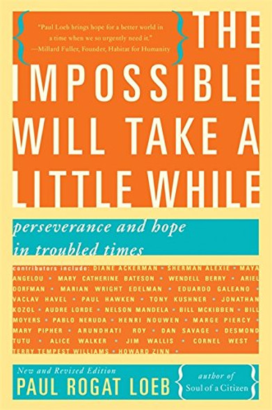 The Impossible Will Take a Little While: A Citizen's Guide to Hope in a Time of Fear - Cover