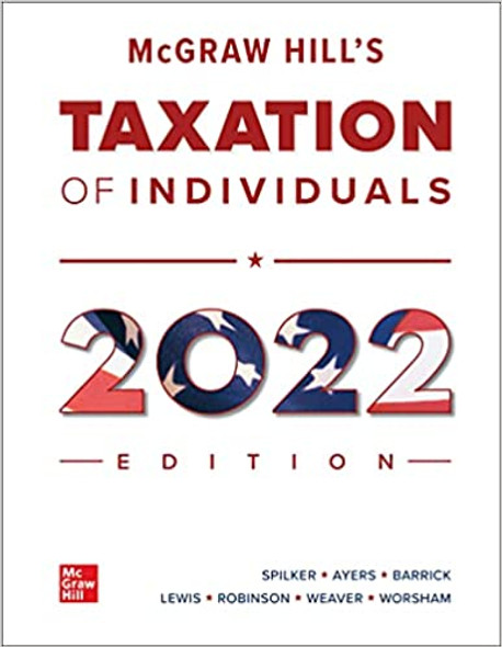 McGraw Hill's Taxation of Individuals 2022 Edition - Cover