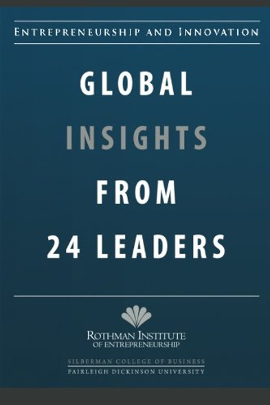 Entrepreneurship and Innovation: Global Insights from 24 Leaders - Cover