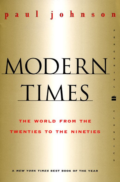 Modern Times Revised Edition: The World from the Twenties to the Nineties - Cover