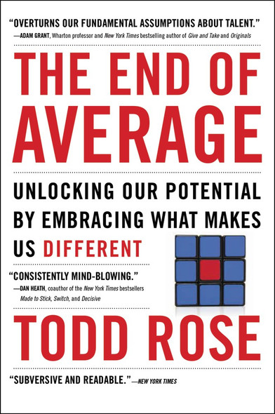 The End of Average by Todd Rose - Cover