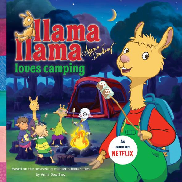 Llama Llama Loves Camping - Cover