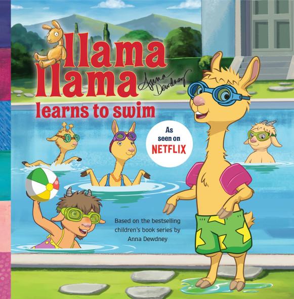 Llama Llama Learns to Swim - Cover