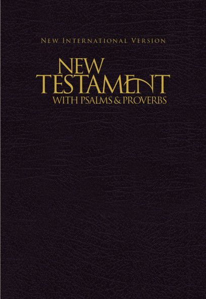 NIV, New Testament with Psalms and Proverbs - Cover