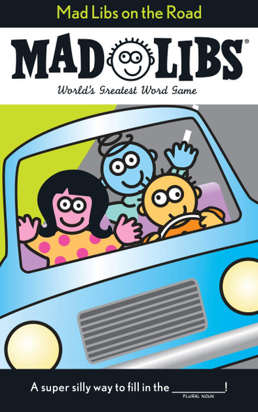Mad Libs on the Road - Cover