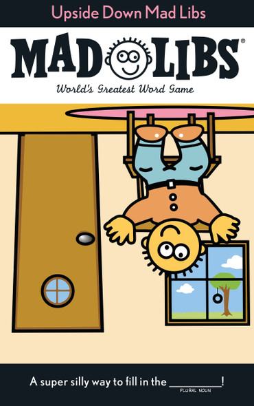 Upside Down Mad Libs - Cover