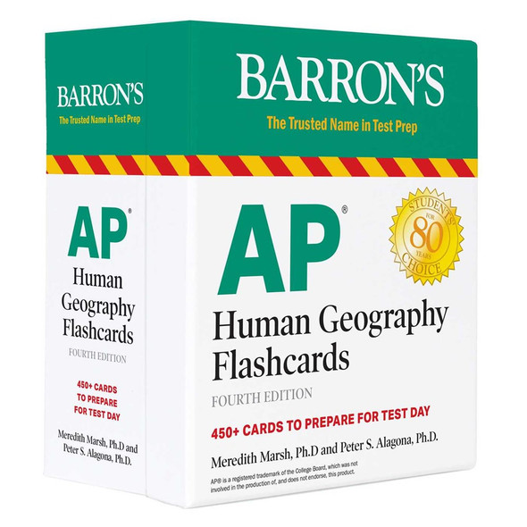 AP Human Geography Flashcards - Cover