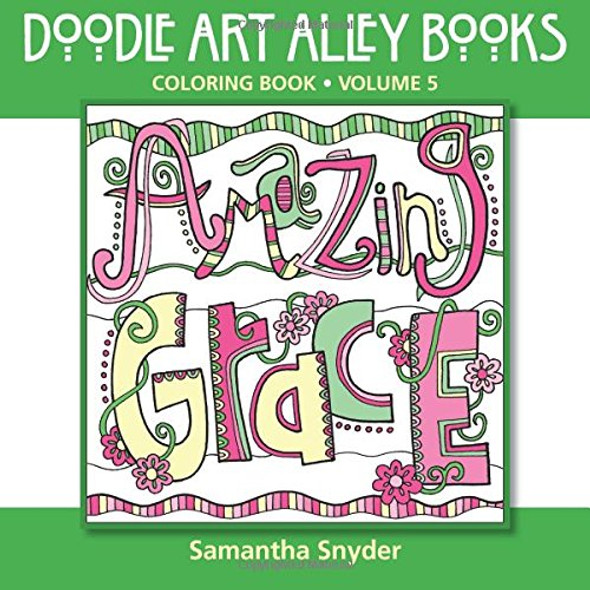 Amazing Grace: Coloring Book - Cover