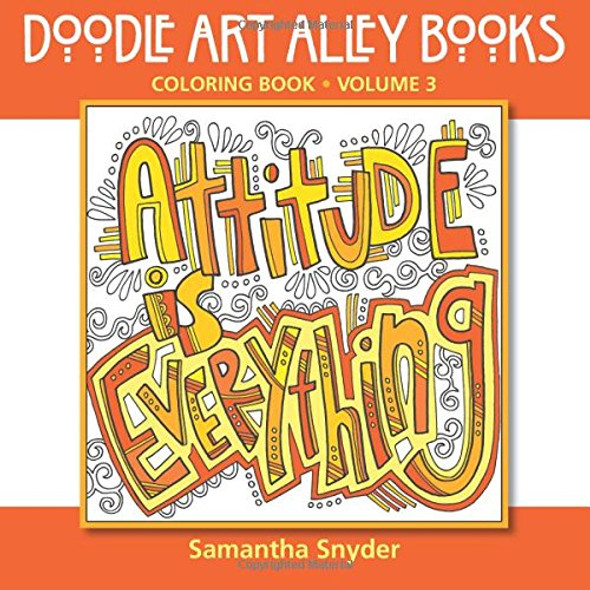 Attitude is Everything: Coloring Book - Cover
