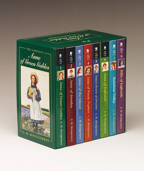 Anne of Green Gables, Complete 8-Book Box Set - Cover