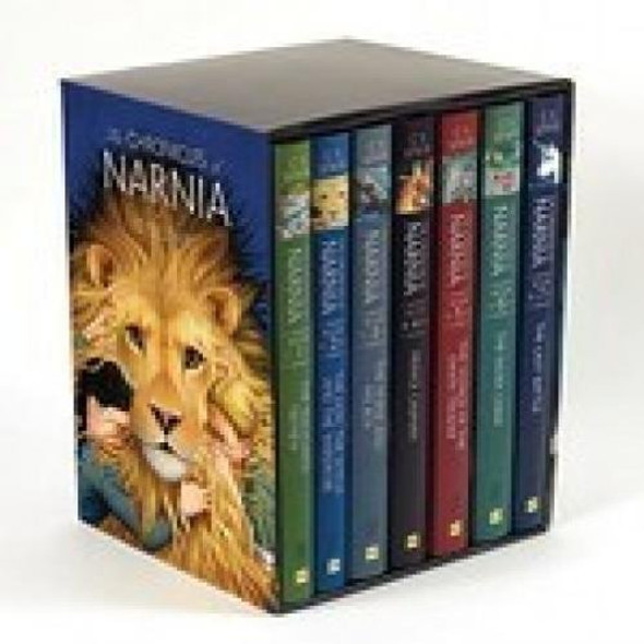 The Chronicles of Narnia Hardcover 7-Book Box Set - Cover