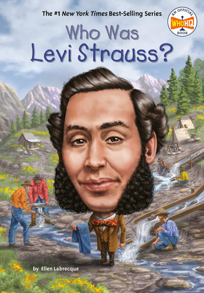 Who Was Levi Strauss? - Cover